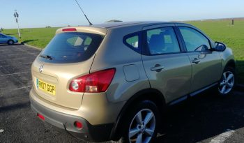 SOLD – NISSAN QASHQAI 2007 FULL LEATHER full