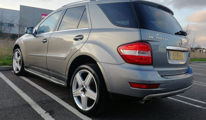 2011 SUPERB MERCEDES ML350 3L DIESEL 7 GEARS AUTO CDI BLUEEFFICIENCY TIPTRONIC full