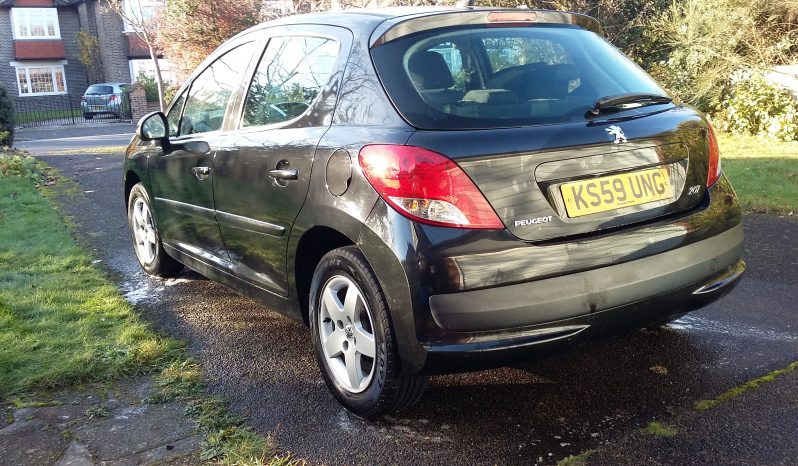 Peugeot 207 Verve, Petrol 1.4L Low Miles Serviced recently: camber oil filters in London-Greenwich £1695 full