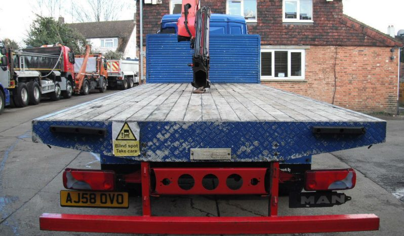 MAN TGM 18.243 Crane Vehicle Year 2009 for £14995 Export Available full