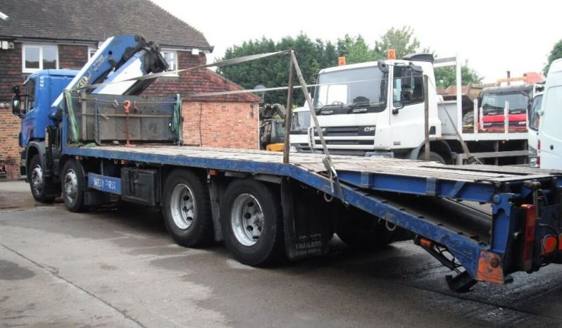 SCANIA 114G-340 8×4 Crane Vehicle Year 2004 for sale £19995 full