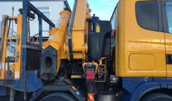 Scania 4-SRS L-CLASS R124LA6X2/4 420 SLP R124.420 8×4 Fassi Crane full