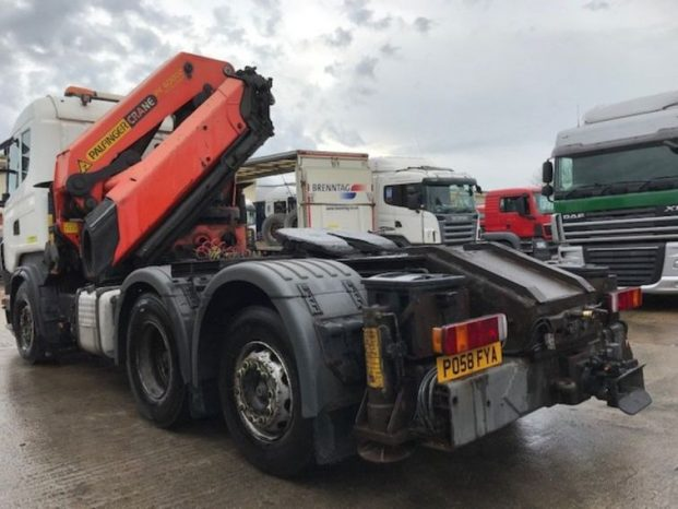Scania R420 6×2 with Palfinger PK60002, Remote Crane, Year 2008 full