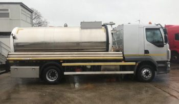 DAF LF210 FA 14T Waste food oil tank stainless steel Year 2016 full